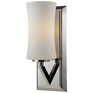 Elite 1-light Chrome Wall Sconce