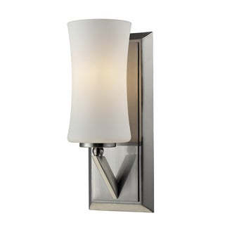 Elite 1-light Brushed Nickel Wall Sconce