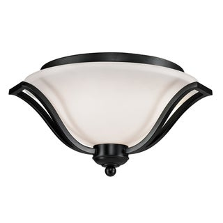 Lagoon Bronze 3-light Ceiling Fixture