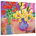 Susi Franco 'Summer Flowers' Gallery-Wrapped Canvas