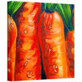 Susi Franco 'Crunchy Carrots ' Gallery-Wrapped Canvas