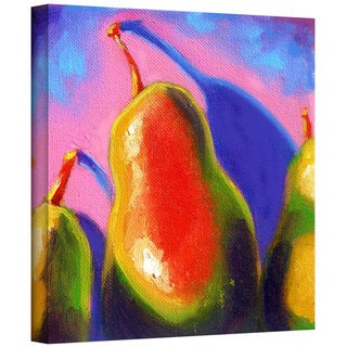 Susi Franco 'Pearfect Shadow' Gallery-Wrapped Canvas