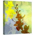 Jan Weiss 'Orchid Shadow' Gallery-Wrapped Canvas