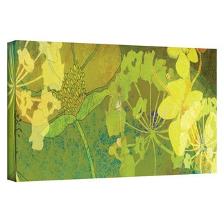 Jan Weiss 'Wildflower Shadows Panel' Gallery-Wrapped Canvas