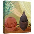Herb Dickinson 'African Style' Gallery-Wrapped Canvas