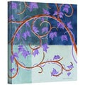 Herb Dickinson 'Blue Gate' Gallery-Wrapped Canvas