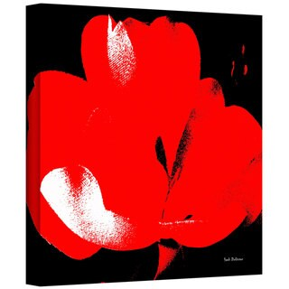 Herb Dickinson 'Hot Blooms I' Gallery-Wrapped Canvas