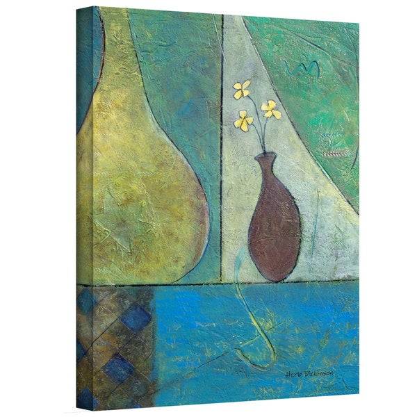 Herb Dickinson 'Texture Whimsy' Gallery-Wrapped Canvas