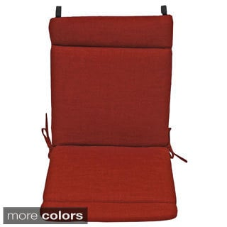 Blazing Needles Earthtone Outdoor Seat/Back Chair/Rocker Cushion