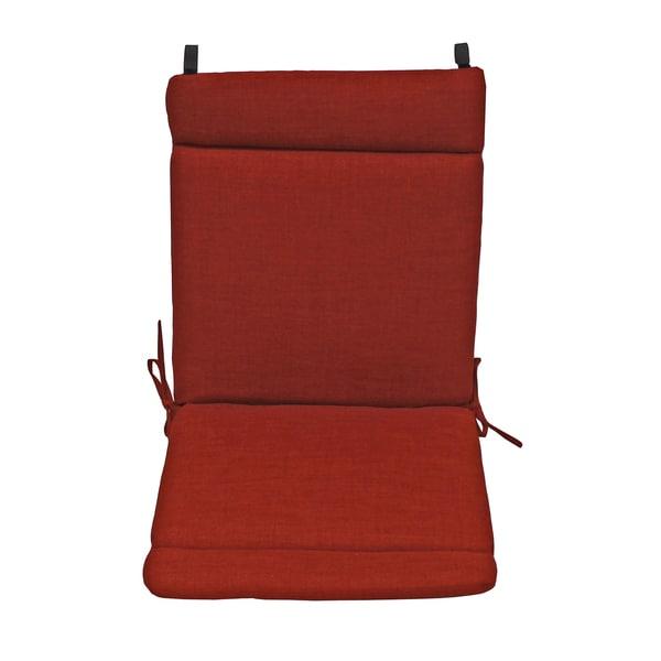 Blazing Needles Earthtone Outdoor Seat Back Chair Rocker