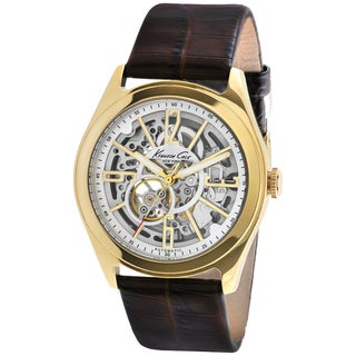 Kenneth Cole Men's Skeleton Automatic Watch