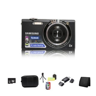 Samsung SH100 14.2MP Digital Camera 8GB Bundle