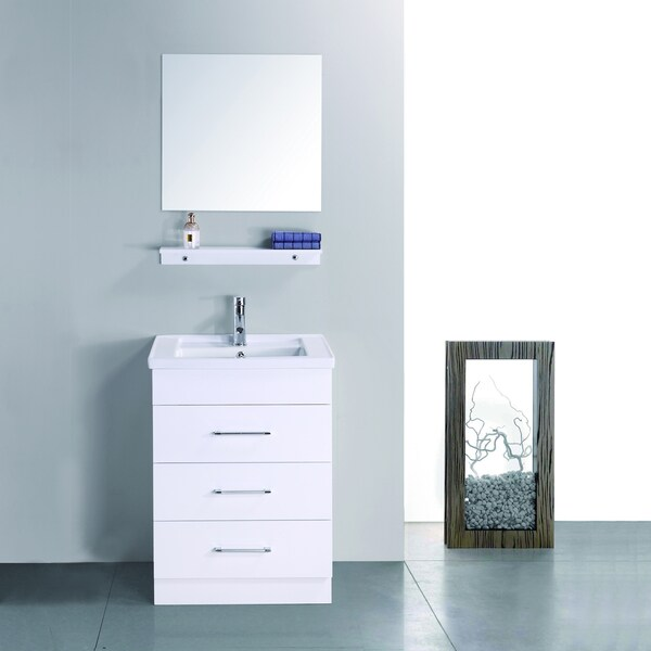 Milo 23 Inch Single Sink Vanity Set 15337963 Shopping Great Deals On Virtu