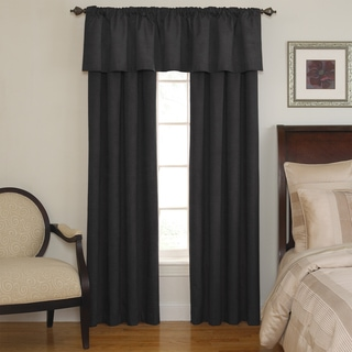 Sound Asleep Room-Darkening Black Curtain Collection