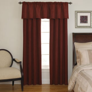 Sound Asleep Room-Darkening Sangria Curtain Collection