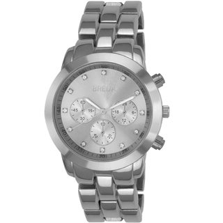 Breda Women's 'Nicole' Silvertone Watch