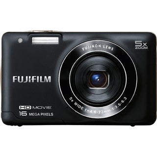 Fujifilm FinePix JX650 16MP Black Digital Camera