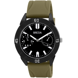 Breda Men's Green/ Black Watch