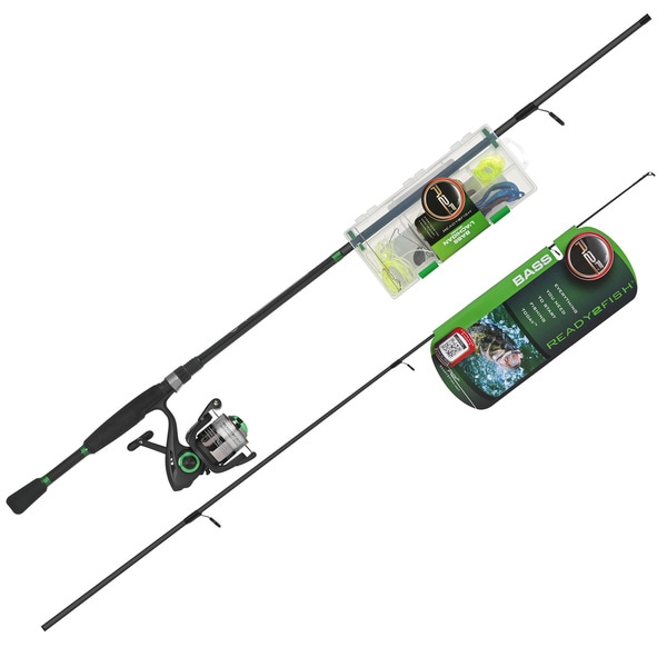 Ready 2 fish bass spin combo kit 15338061 overstock for Best fishing combo