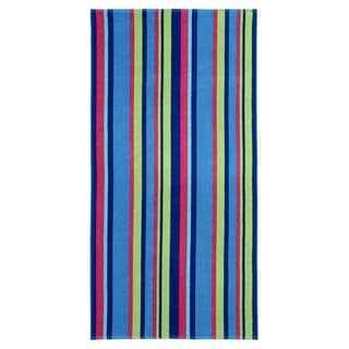Celebration Jacquard 2-piece Chelmsford Striped Beach Towel Set