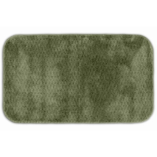Enliven Textured Deep Fern Bath Rug
