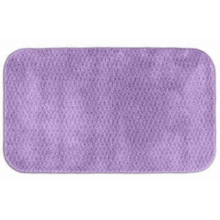 Enliven Textured Amethyst Bath Rug