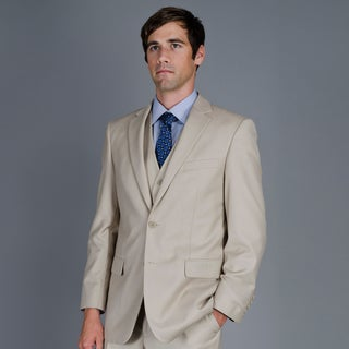 Men's 2-Button Vested Suit