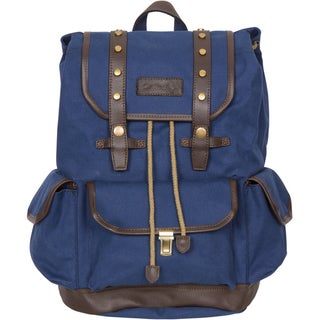 Rakuda Ocean Blue Canvas Companion Backpack