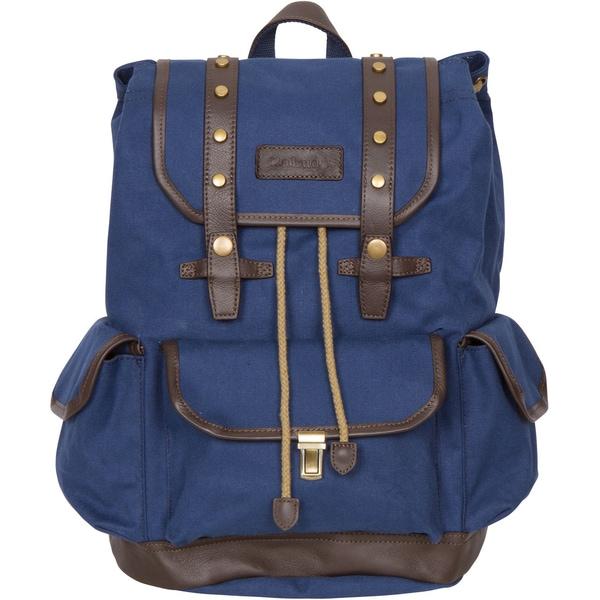 Rakuda Ocean Blue Canvas Companion Backpack