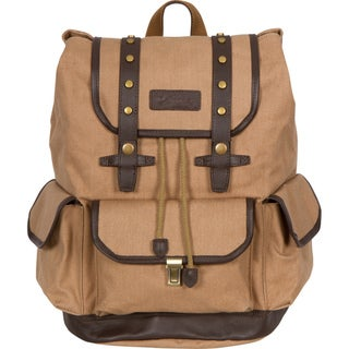 Rakuda Tan Canvas Companion Backpack