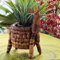 Giraffe Banana Fiber Pot Holder (Kenya)