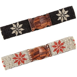Beaded Daisy Belt (Indonesia)