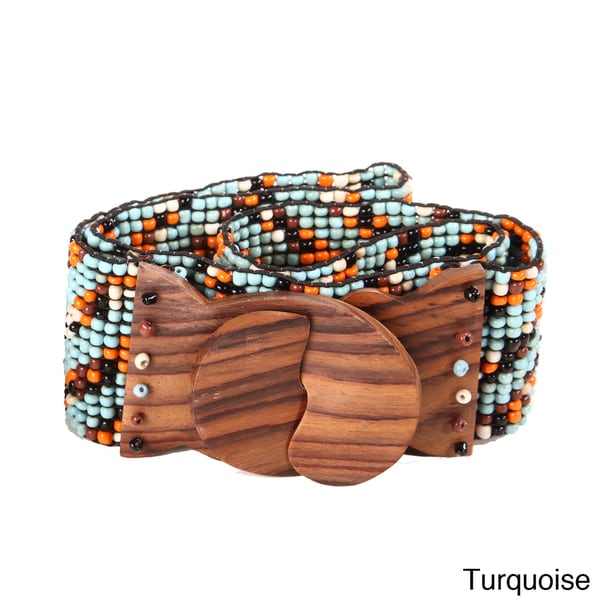 Beaded Dual Color Belt (Indonesia)