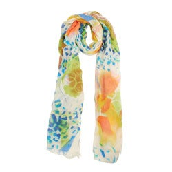 Block Print Summer Scarf (India)