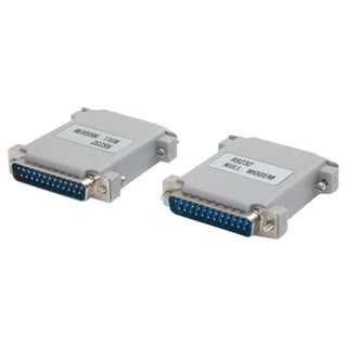 StarTech.com Null Modem Cable Adapter DB25 to DB25 M/M