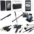 BasAcc Case/ Screen Protector/ Stylus/ Holder for Motorola Droid X
