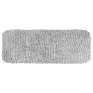 Cheltenham Platinum Gray Washable 22 x 60 Bath Runner