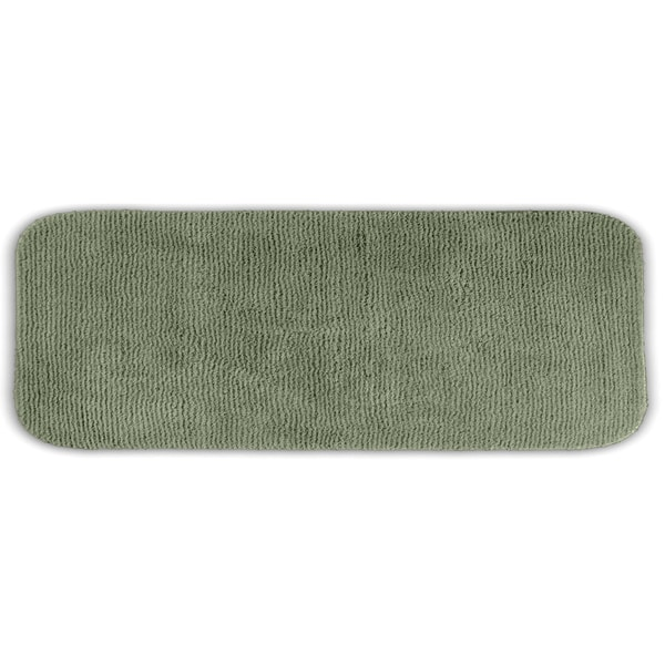 Somette Cheltenham Deep Fern Washable Bath Runner