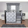 Trend Lab Medallions 5-piece Crib Bedding Set