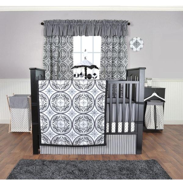 Trend Lab Medallions 5-piece Crib Bedding Set