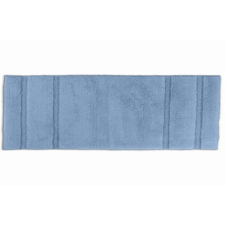 Somette Tranquility Cotton Sky Blue Bath Runner