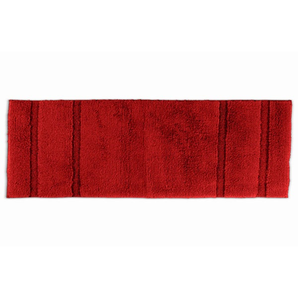 somette tranquility cotton chili pepper red 22 x 60 bath