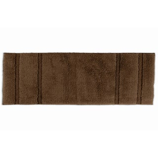 Somette Tranquility Cotton Chocolate 22 x 60 Bath Runner