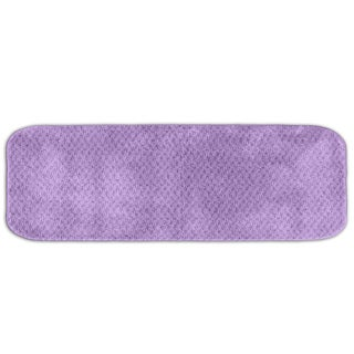Enliven Textured Amethyst 22 x 60 Bath Runner