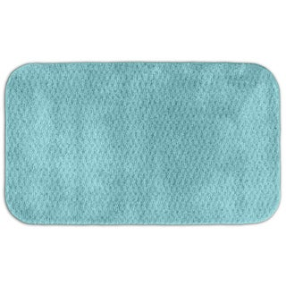 Enliven Textured Sea Foam Bath Rug (30 x 50)