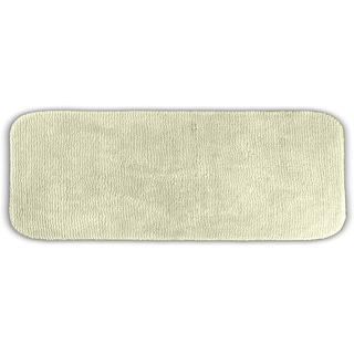 Somette Cheltenham Ivory Washable Bath Runner