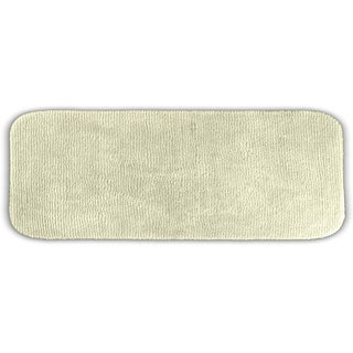 Cheltenham Ivory Washable Runner Bath Rug
