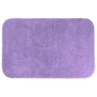 Cheltenham Purple Washable Bath Rug