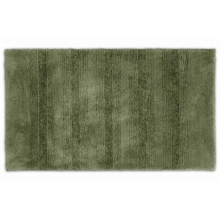 Somette Westport Stripe Beach Grass Washable 30 x 50 Bath Rug