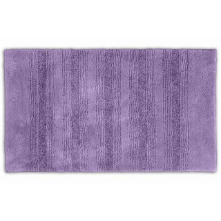 Westport Stripe Periwinkle Washable Bath Rug